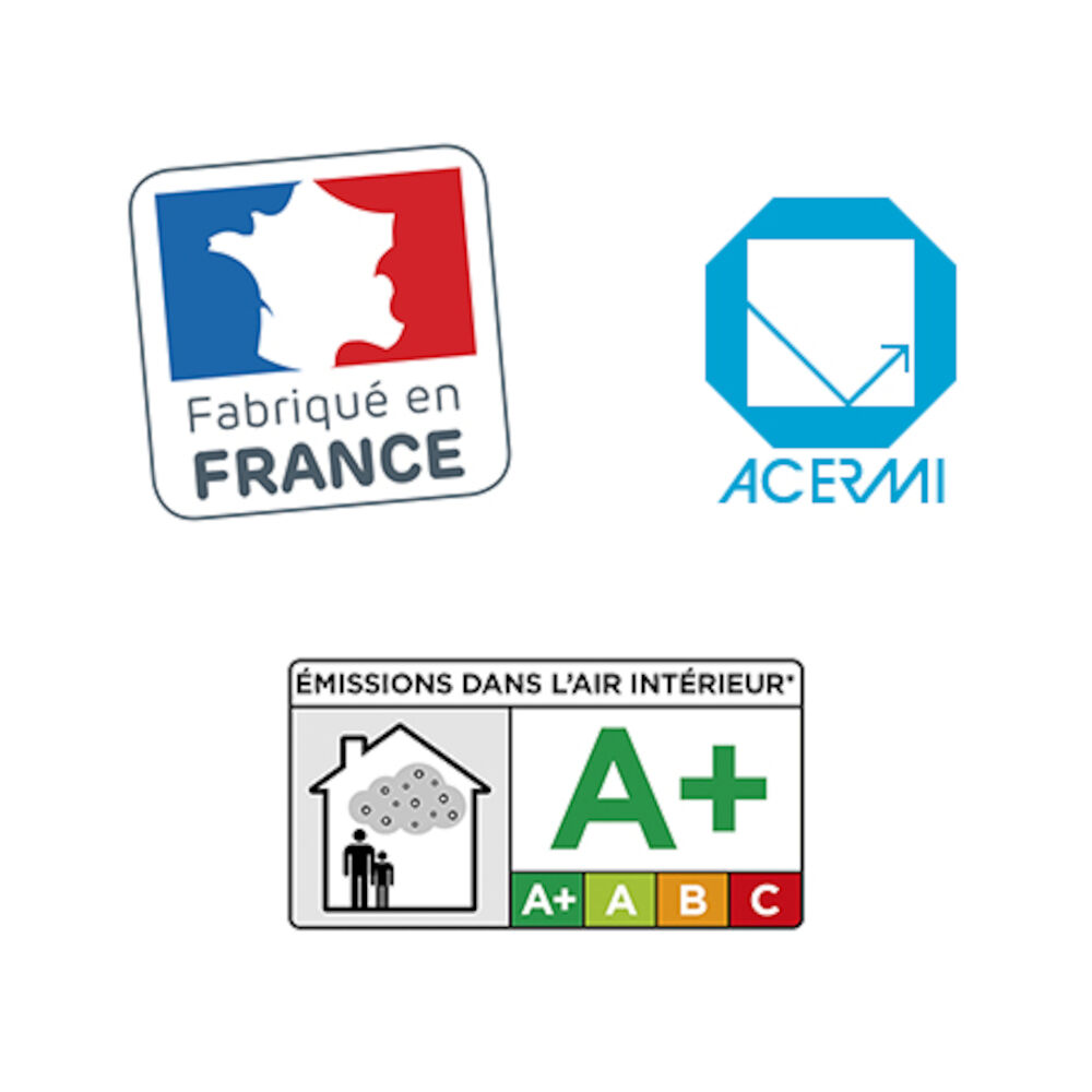 Planodis - Certifications Made in France - A+ - ACERMI