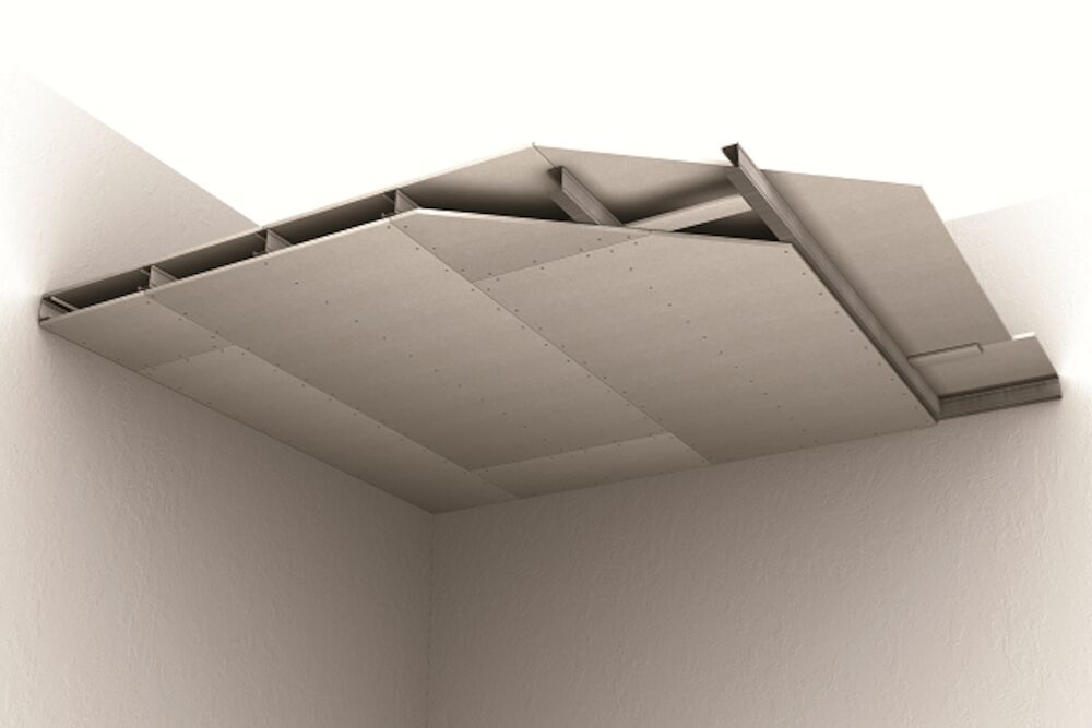 PROMATECT 100 Self Supporting Membrane Ceiling