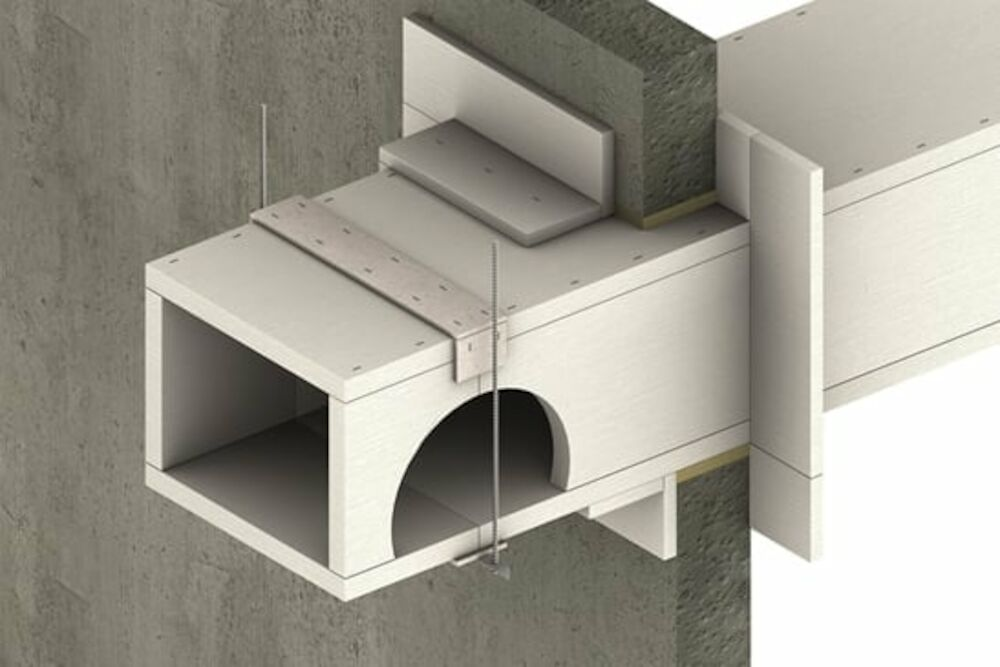PROMATECT L500 Self Supporting Duct